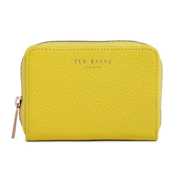 c0f362d7d1d Ted Baker Bags, Yellow Textured Mini Purse for Women at Thecollective.in