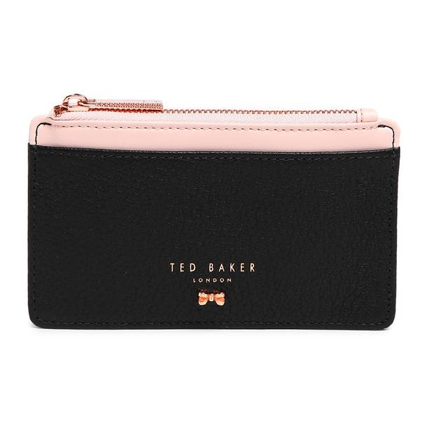 dfbeded0ed Ted Baker Bags, Black Textured Card Holder for Women at Thecollective.in