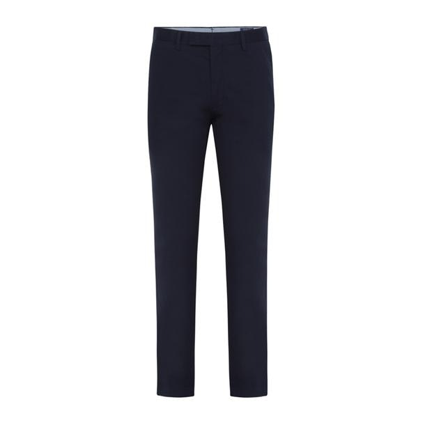 cheap for sale on feet images of good quality Polo Ralph Lauren Trousers, Navy Slim Twill Trouser for Men at ...