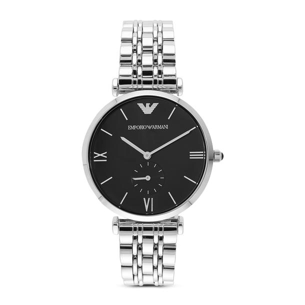 a0e43941c4 Emporio Armani Watches, Silver Analog Watch for Women at ...