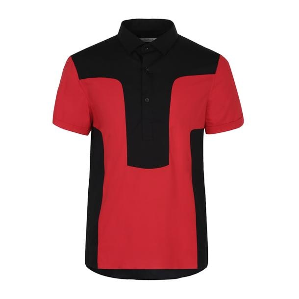 e1c780c0 Versace Collection Casual Shirts, Black Color Block Casual Shirt for ...
