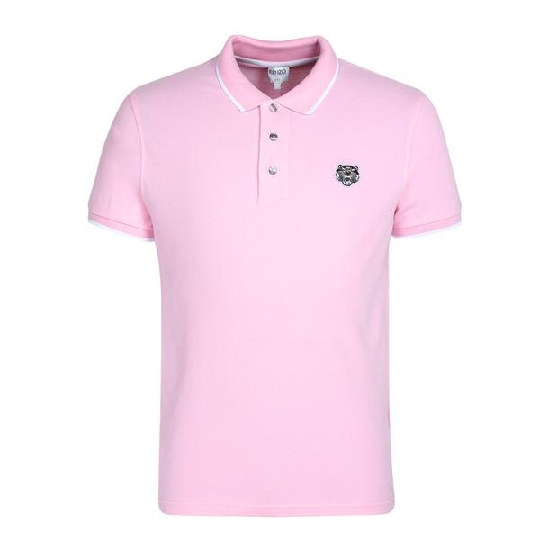 a5c1d9cc18 Kenzo Polos, Pink Logo Polo for Men at Thecollective.in
