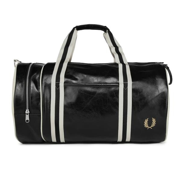 3a7f4c5f7 Fred Perry Bags, Black Barrel Bag for Men at Thecollective.in