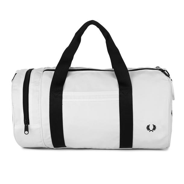 6d267f60a Fred Perry Bags, White Barrel Bag for Men at Thecollective.in