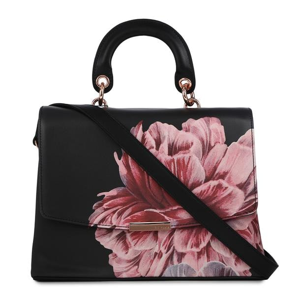 e17eac90c Ted Baker Bags, Black Floral Shoulder Bag for Women at Thecollective.in