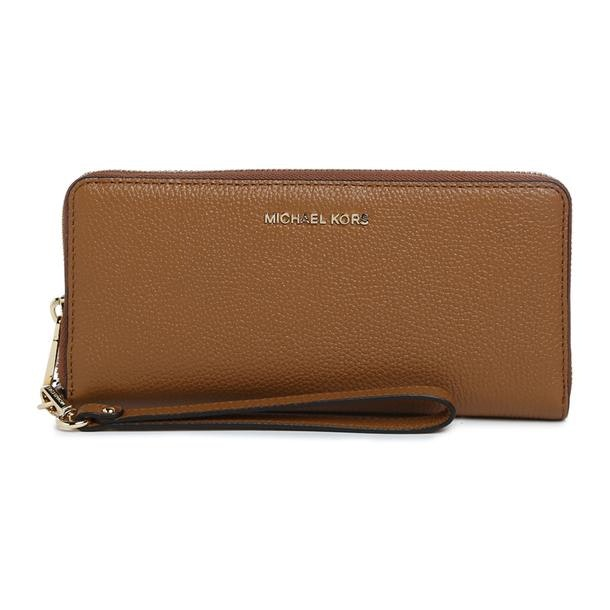 9b11db483ffb Michael Kors Bags, Tan Zip Around Wallet for Women at Thecollective.in