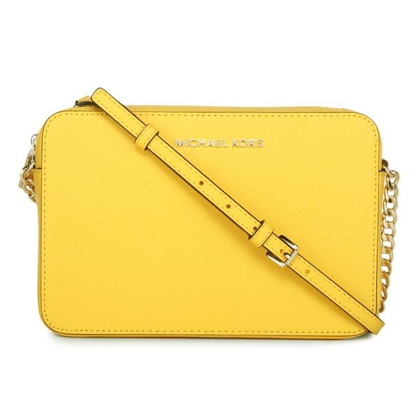 michael kors bags yellow textured crossbody bag for women at rh thecollective in