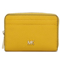0d748cf07993 Yellow Grainy Card Holder