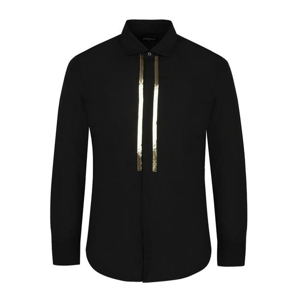 51b78127 Dsquared 2 Casual Shirts, Black Casual Shirt for Men at Thecollective.in
