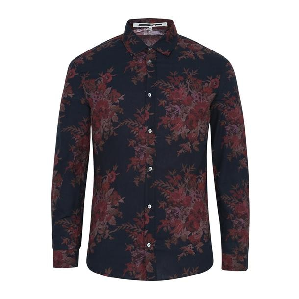 4d8c1a1cc9bb Mcq Alexander McQueen Casual Shirts, Black Printed Shirt for Men at ...