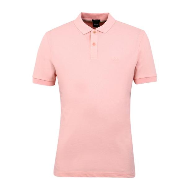 a8531b4d Hugo Boss Green Polos, Baby Pink Logo Polo for Men at Thecollective.in