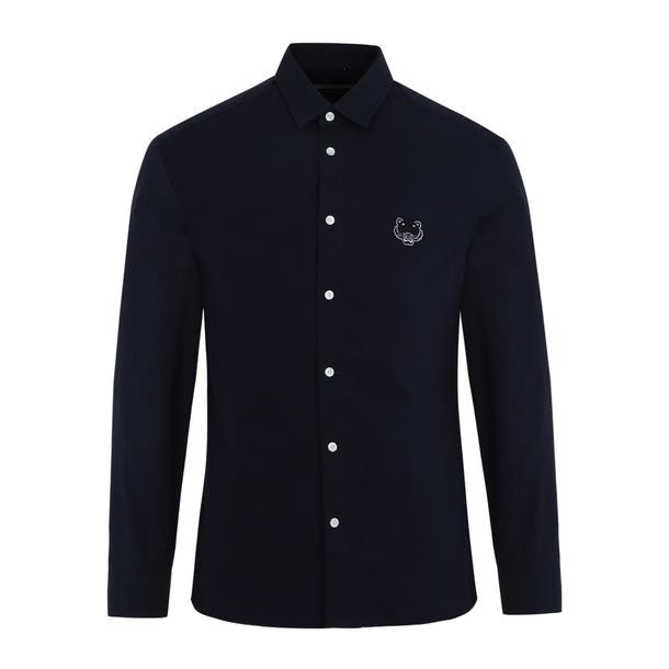 20609a81 Kenzo Casual Shirts, Navy Tiger Design Shirt for Men at Thecollective.in