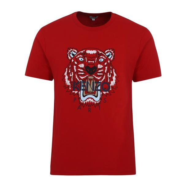 9c5e15eea Kenzo T-Shirts, Red Tiger Embroidery T Shirt for Men at Thecollective.in