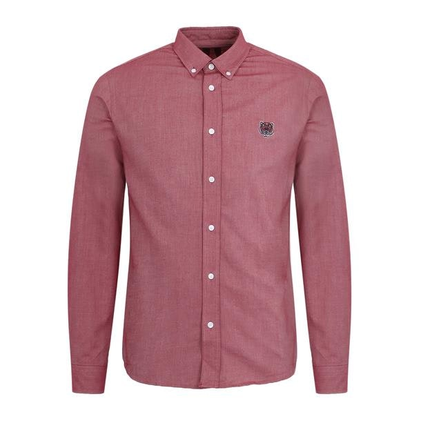 333bf95aa7d9c Kenzo Casual Shirts, Wine Button Down Shirt for Men at Thecollective.in