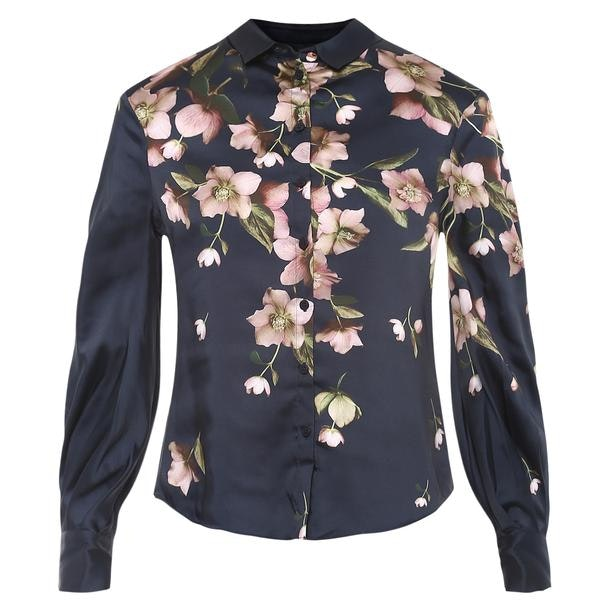 092e0c02d Ted Baker Shirts, Navy Floral Print shirt for Women at Thecollective.in