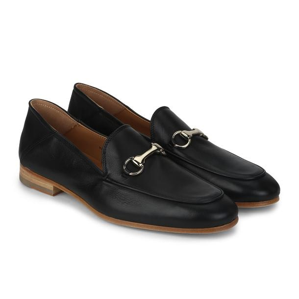 0b380c2e62f2e Patrizio Dolci Shoes, Black Loafers for Men at Thecollective.in