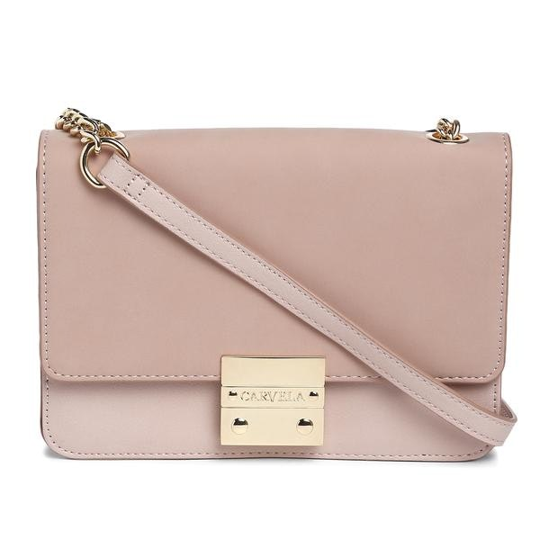 9dd6053c3be6 Carvela Bags, Pink Suede Crossbody Bag for Women at Thecollective.in