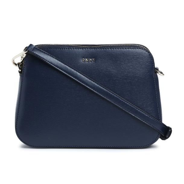dca1d162d Dkny Bags, Navy Textured Crossbody Bag for Women at Thecollective.in