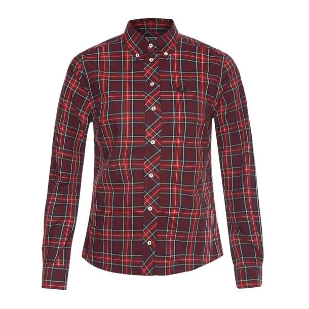 03266981a2 Fred Perry Shirts, Multicoloured Check shirt for Women at ...