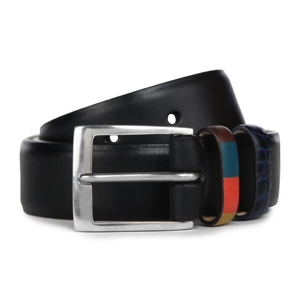 f4373fcce37aa Ps By Paul Smith Belts And Buckle, Black Double Keeper Belt for Men ...