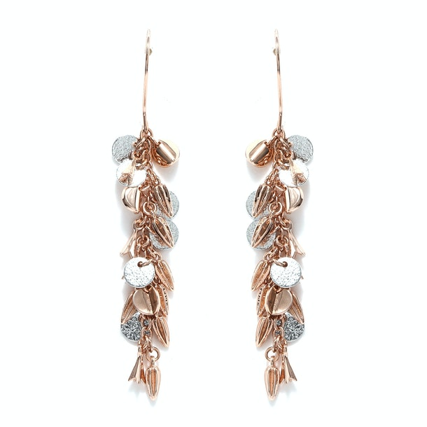 Karen Millen Jewellery Rose Gold Charm Earrings For Women At Thecollective In