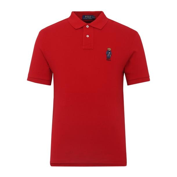 3878acae RECOMMENDATIONS. Red Slim Fit Soft Touch Polo Shirt. Polo Ralph Lauren