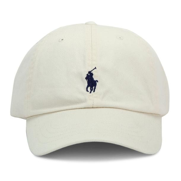 1ee524ad5641ef Polo Ralph Lauren Hats, Gloves, Scarves, Cream Logo Embroidered Hat ...