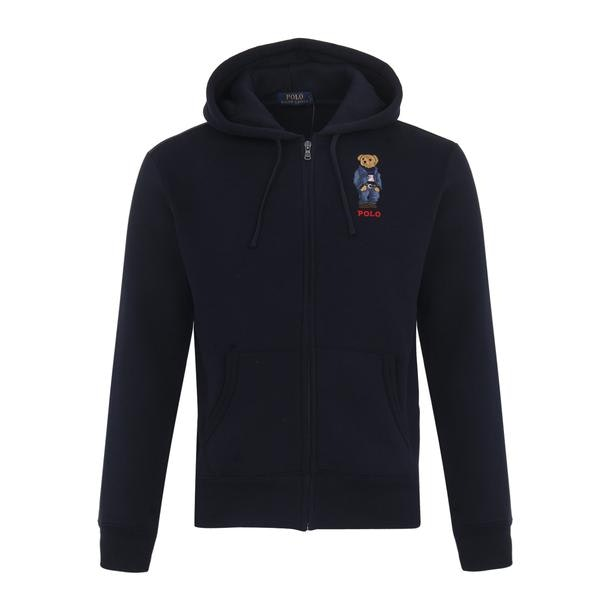 200677bf Polo Ralph Lauren Sports, Navy Sweat Jacket for Men at Thecollective.in