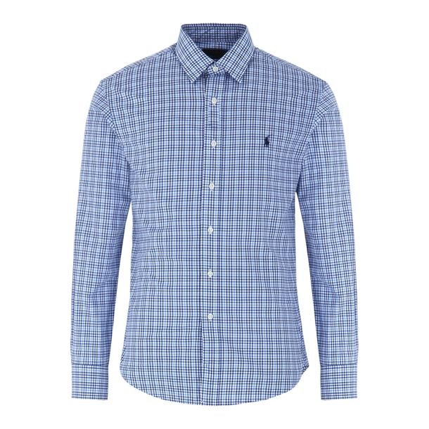 b4c7d1ba Polo Ralph Lauren Casual Shirts, Blue Check Casual Shirt for Men at ...