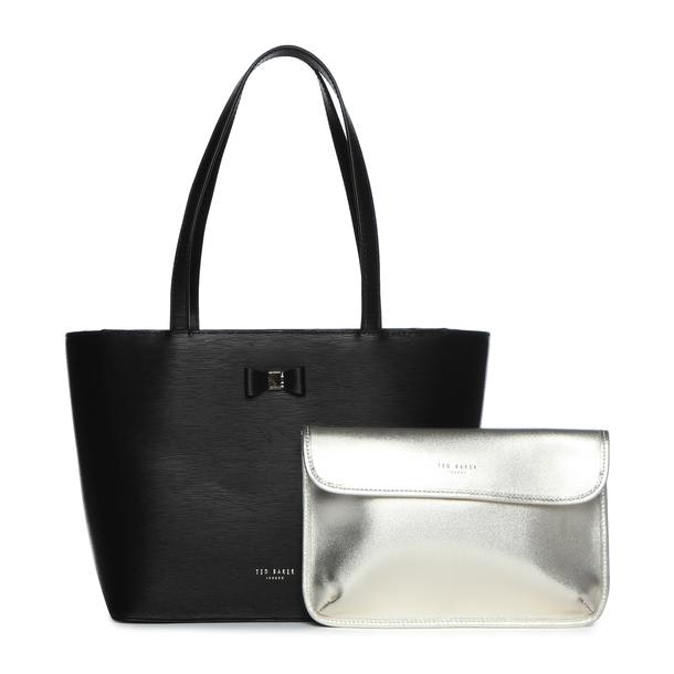 a9153cc472 Ted Baker Bags, Black Bow Shopping Bag for Women at Thecollective.in