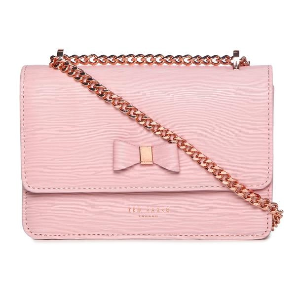 a9325a89390 Ted Baker Bags, Pink Textured Micro Crossbody for Women at ...