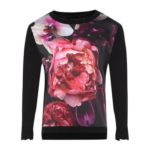 d35ea875d Ted Baker Tops, Black Floral Print Top for Women at Thecollective.in