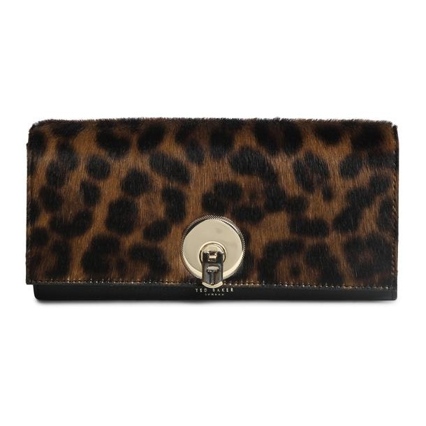 a1bbf2e964 Ted Baker Bags, Black Leopard Print Purse for Women at Thecollective.in