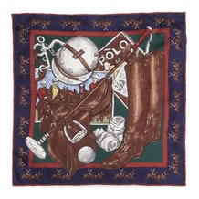 637c31d07 Navy Polo Game Pocket Square