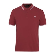d173d119 Red Twin Tipped Polo