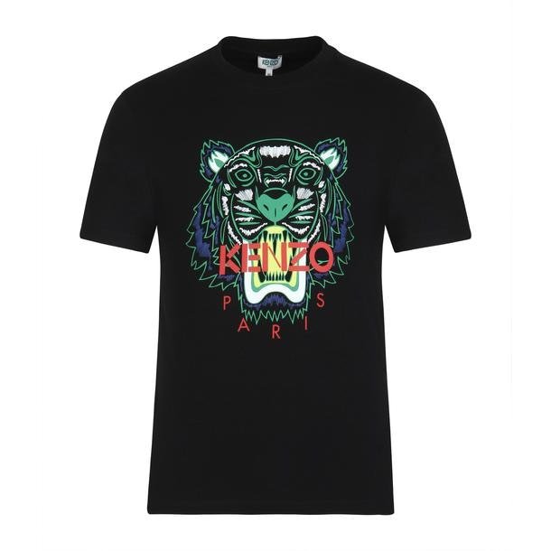 8ba361c1198bd Kenzo T-Shirts, Black Printed T Shirt for Men at Thecollective.in