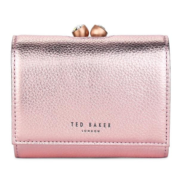 7deb7f2e228b Ted Baker Bags, Baby Pink Textured Purse for Women at Thecollective.in