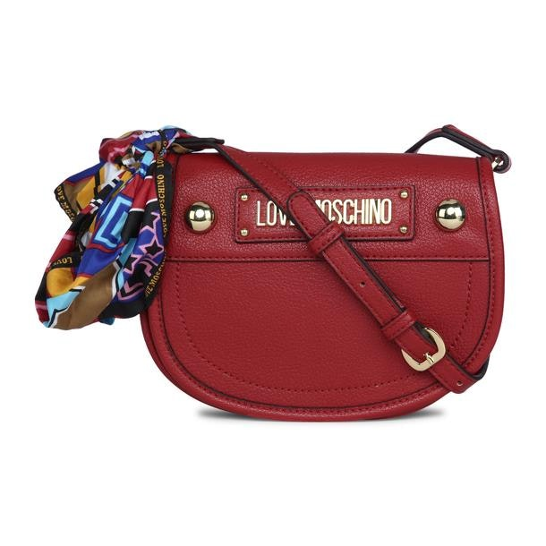 1eb03074b2b Love Moschino Bags, Red Scarf Satchel Bag for Women at Thecollective.in