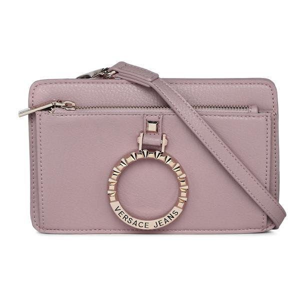 9c157fc614c2a2 Versace Jeans Bags, Baby Pink Crossbody Bag for Women at ...