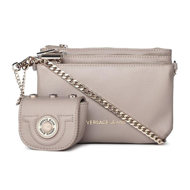 78bb0db5 Versace Jeans Bags, Grey Grainy Crossbody Bag for Women at ...