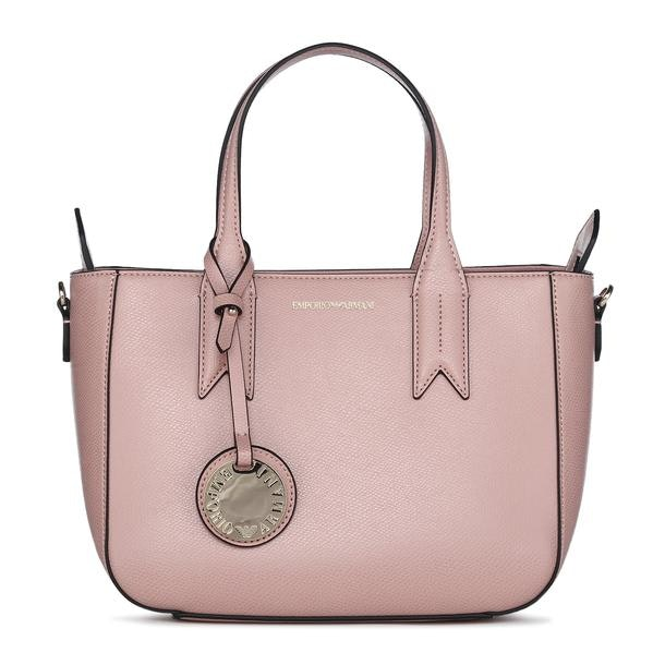 ed0c3e6a7b Emporio Armani Bags, Pink Textured Shoulder With Sling Bag for Women ...