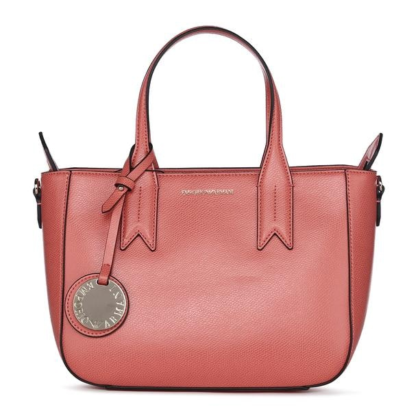 1c8ecfb090 Emporio Armani Bags, Pink Textured Shoulder With Sling Bag for Women ...