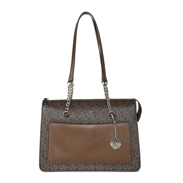 0409f0832 Dkny Bags, Brown Logo Tote Bag for Women at Thecollective.in