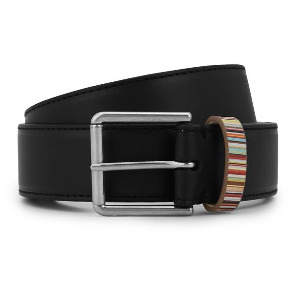 123299034c544 Ps By Paul Smith Belts And Buckle, Black Leather Belt for Men at ...