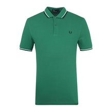 61ca33c78932 Green Logo Polo