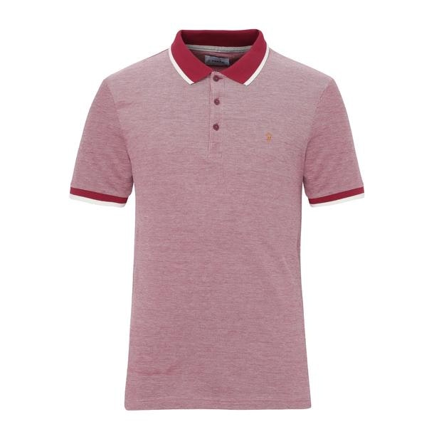 9196adb7 Farah Polos, Red Logo Polo for Men at Thecollective.in