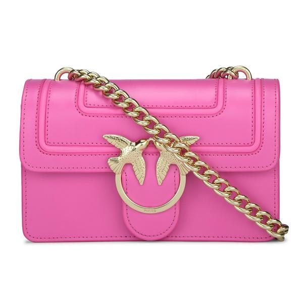 f8e366dca3a Pinko Bags, Pink Love Satchel Bag for Women at Thecollective.in