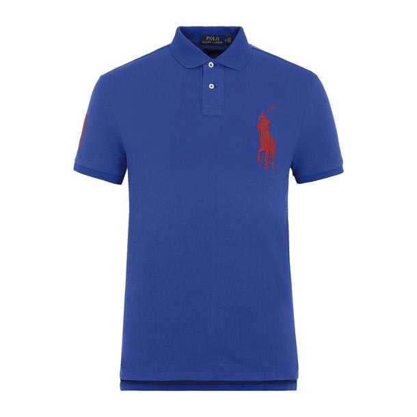 e30959405771 Polo Ralph Lauren Polos, Blue Pique Logo Polo for Men at ...