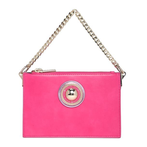 077a1e85 Versace Jeans Bags, Fuchsia Boxy Sling Bag for Women at Thecollective.in