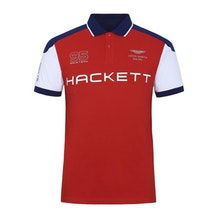 bb632d31ff Red Colour Blocked Polo